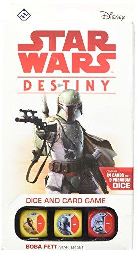 War Starter Deck - Asmodee Star Wars Destiny: Boba Fett Starter Set