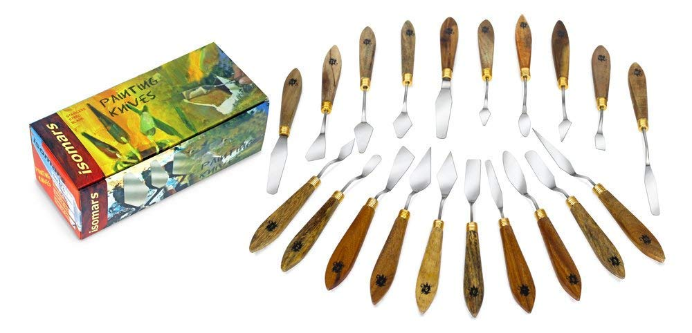 FineArt Painting Knives - Set of 20 by FineArt