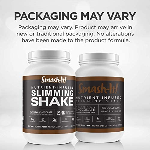 Primal Labs Smash-It! Nutrient Infused Low Carb Protein Powder for Weight Loss, Keto Meal Replacement Shake Powder, Gluten-Free Whey Protein Powder, Delicious Chocolate Flavor, 780 Grams 2