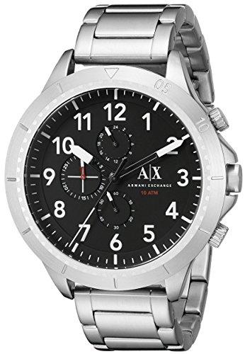 Armani Exchange Men's AX1750  Silver  - Armani Exchange India