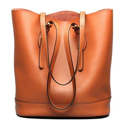 Sac Sauvage Casual Femme Brown Shopping Sac Une Mode à Rencontres AJLBT épaule Seau à Main Sac Simple Pour dzpqxn