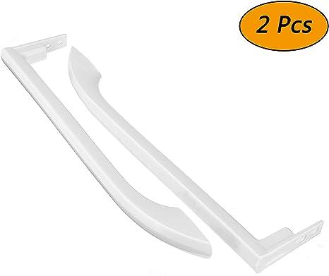Compatible with 5304486359 White Door Handles 5304486359 Refrigerator Door Handles Set Replacement for Frigidaire FFHT1521QW0 Refrigerator UpStart Components Brand
