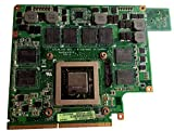 1.5G Laptop VGA Graphic Card N11E-GS-A1 for ASUS G73JW G53JW G73 G53 GTX460M Compatible 90R-N0UVG1000Y