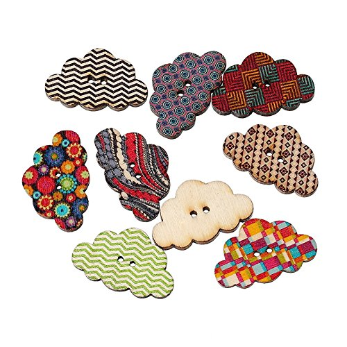 maxrytmmulticolor-cloud-shaped-2-holes-wooden-sewing-buttons-botones-decorativos-random-mixed-3x19cm