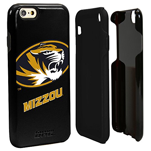 Guard Dog NCAA Missouri Tigers Hybrid iPhone 6 Case, Black, One Size from Guard Dog