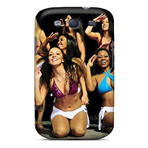 S3 Scratch-proof Protection Case Cover For Galaxy/ Hot Washington Redskins Cheerleaderswimsuits Phone Case