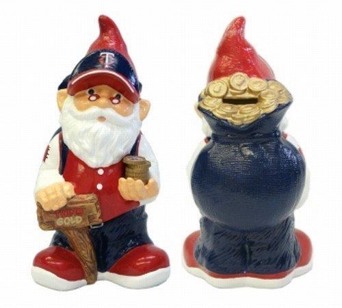 MLB Minnesota Twins Team Gnome Bank