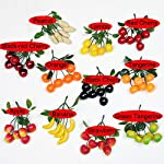 Colorfulife-Artificial-Plastic-Lifelike-Mini-6-Fake-Fruit-Vegetable-String-Model-Party-Home-Decoration-Teaching-Props-Photo-Child-Education-Fruits-House-Kitchen-Creative-Decorative-6-Tangerine