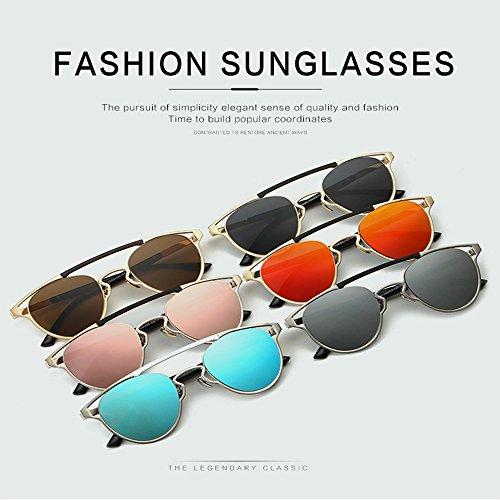 Gafas Retro D Hombres Salvajes Mujeres Gafas Y Blue Clásicas Gafas De Red De De Sol Mujer Retro Sol Sol Reflexivas ESffXIwq