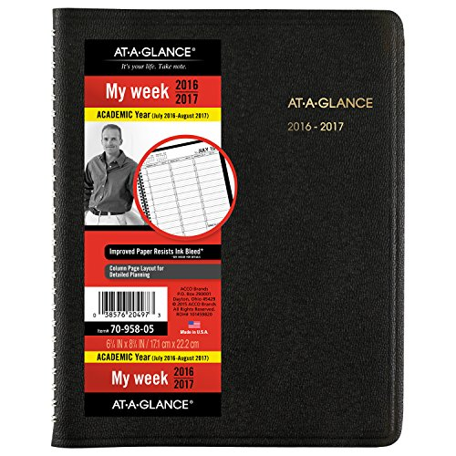 GLANCE Academic Weekly Appointment Planner