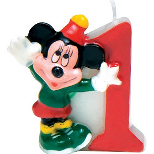Disney Mickey Mouse Candle Number 1