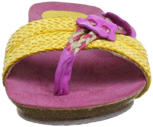 fuxia Zuecos amarillo Rosa Para pink Mujer Mb41801 Maybe wg5a0qRxz5