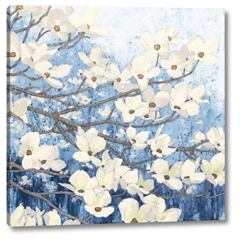 Dogwood Blossoms II Indigo by James Wiens - 38