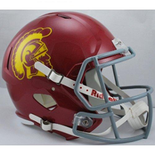 (Riddell NCAA USC Trojans Replica Speed Full Size Football Helmet)