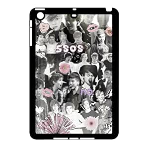 New arrival 5sos band Fans Hard Plastic phone Case For Apple iPad mini RCX078542