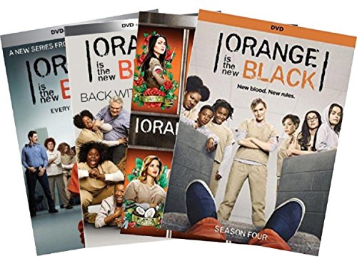 Orange is the new black Complete Series - Seasons 1,2,3 & 4 Collection Set + Digital Copy (Orange Is The New Black Box Set)