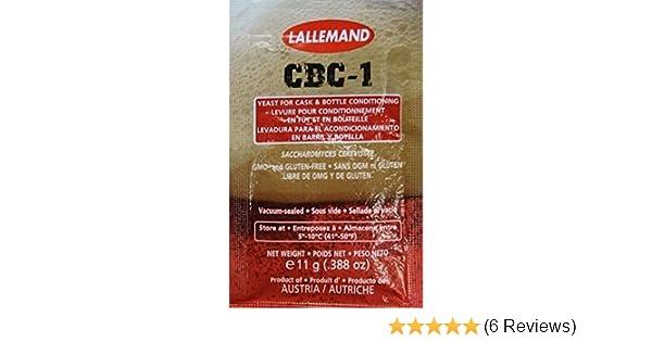 Amazon.com: Lallemand CBC-1 Conditioning Yeast (11 gram): Industrial & Scientific
