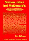 Sieben Jahre Bei Mcdonald's, D&uuml and J&ouml Ã?mann, 3839131375