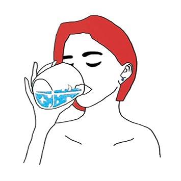 Tatuaje temporal a prueba de agua mujer beso pistola sexo pegatina ...