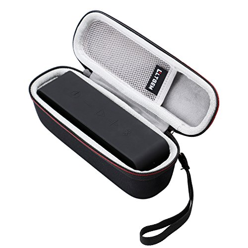 LTGEM Hard Case for Anker SoundCore or DKnight MagicBox I and II Speaker with Mesh Pocket-Black