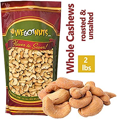 Anacardos tostados sin sal - We Got Nuts: Amazon.com ...