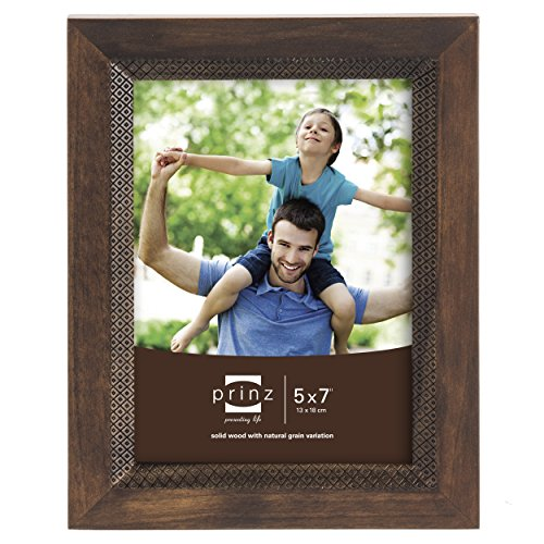 Prinz Monterey Wood Frame with Embossed Diamond Pattern, ...