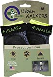 HEALERS Urban Walker Dog Boots-Silver/Neon Yellow-2 ct, Large