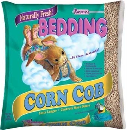 F.M. Brown's, Press-Packed Bedding, 360 Cubic-Inch Corn Cob Bedding - Corn Cob Litter