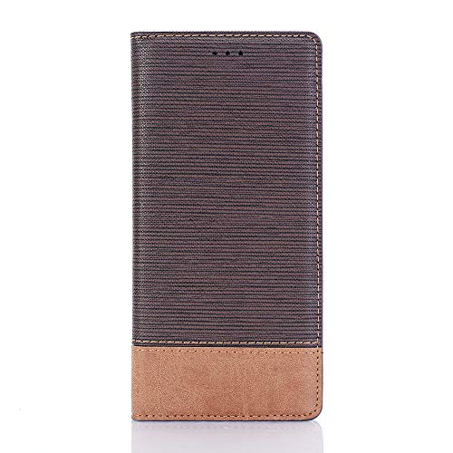 Wallet Case for Samsung Note 9,MeiLiio 6.4 inch Wallet Handbag with Card Holders Magnetic Smart Wallet Case Stand Cover for Samsung Galaxy Note 9 Women Men Boys Girls -Dark Brown by MeiLiio