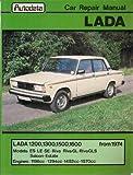 Car Repair Manual for Lada 1200, 1300, 1500, 1600 from 1974