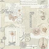 Arthouse 665400 Felicity Neutral Wallpaper
