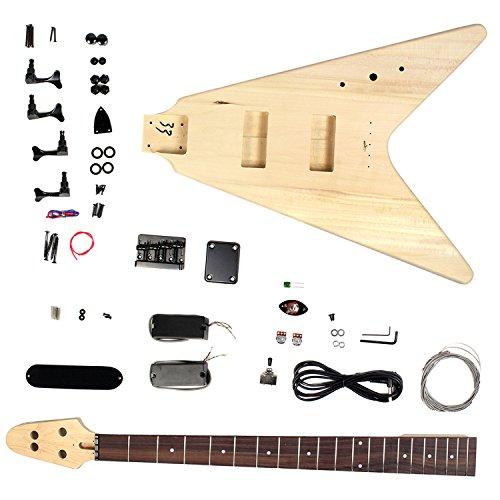 bass guitar diy kit project flying v bassist hq. Black Bedroom Furniture Sets. Home Design Ideas
