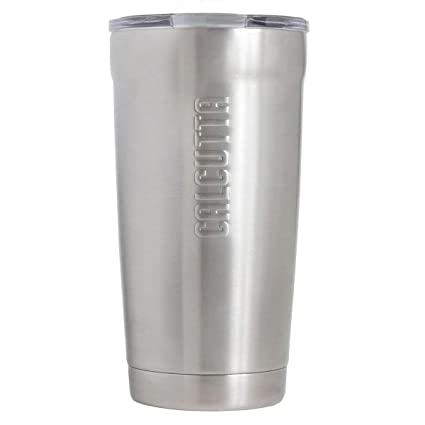 Amazon.com: Calcutta Traveler drinkware 20 oz de doble pared ...
