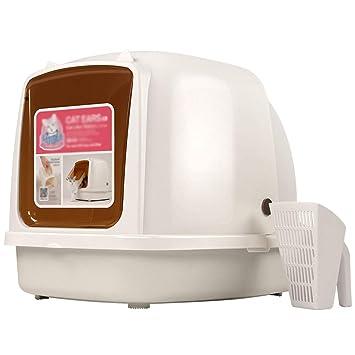 Amazon.com: PLDDY - Caja de arena extra grande para gatos ...