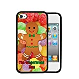 Best Gumdrop Cases iPhone 4 Cases - Christmas Theme The Gingerbread Man Cookie with Candy Review