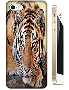Tiger Case Cover Hard Back Cases Beautiful Nice Cute Animal hot selling cell phone cases for Apple Accessories iPhone 4/4S # 2