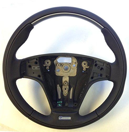 genuine-volvo-r-design-sport-leather-steering-wheel-c30-c70-v50-s40-see-list-new