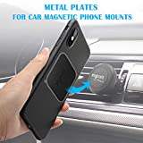 Metal Plate for Phone Magnet, Volport MagicPlate with 3M Adhesive Replacement for Magnetic Phone Car Mount Holder & Cradle & Stand (Vent/CD/Windshield/Dashboard)-10 Pack Rectangle and Round