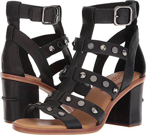 UGG Women's Macayla Studded Bling Sandal Black Size 8.5 B US