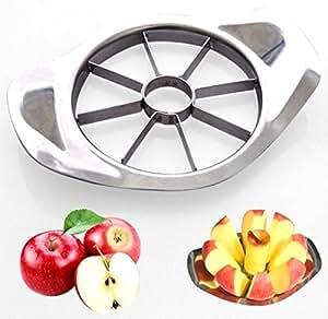 Creative Stainless Steel Apple Cutter Kitchen Bar Fruit Slicer Peeler.