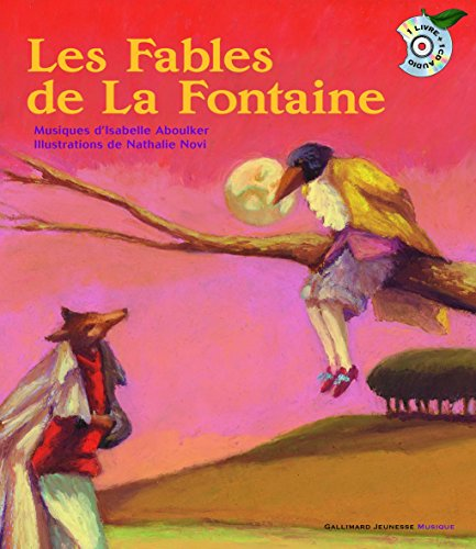 Les Fables de La Fontaine Audio CD (French Edition) by French and European Publications Inc