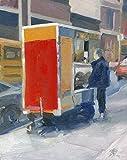 Red Food Cart