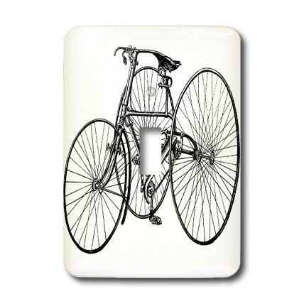 3d Rose 3dRose LLC lsp_41549_1 Vintage Tricycle for Grown...