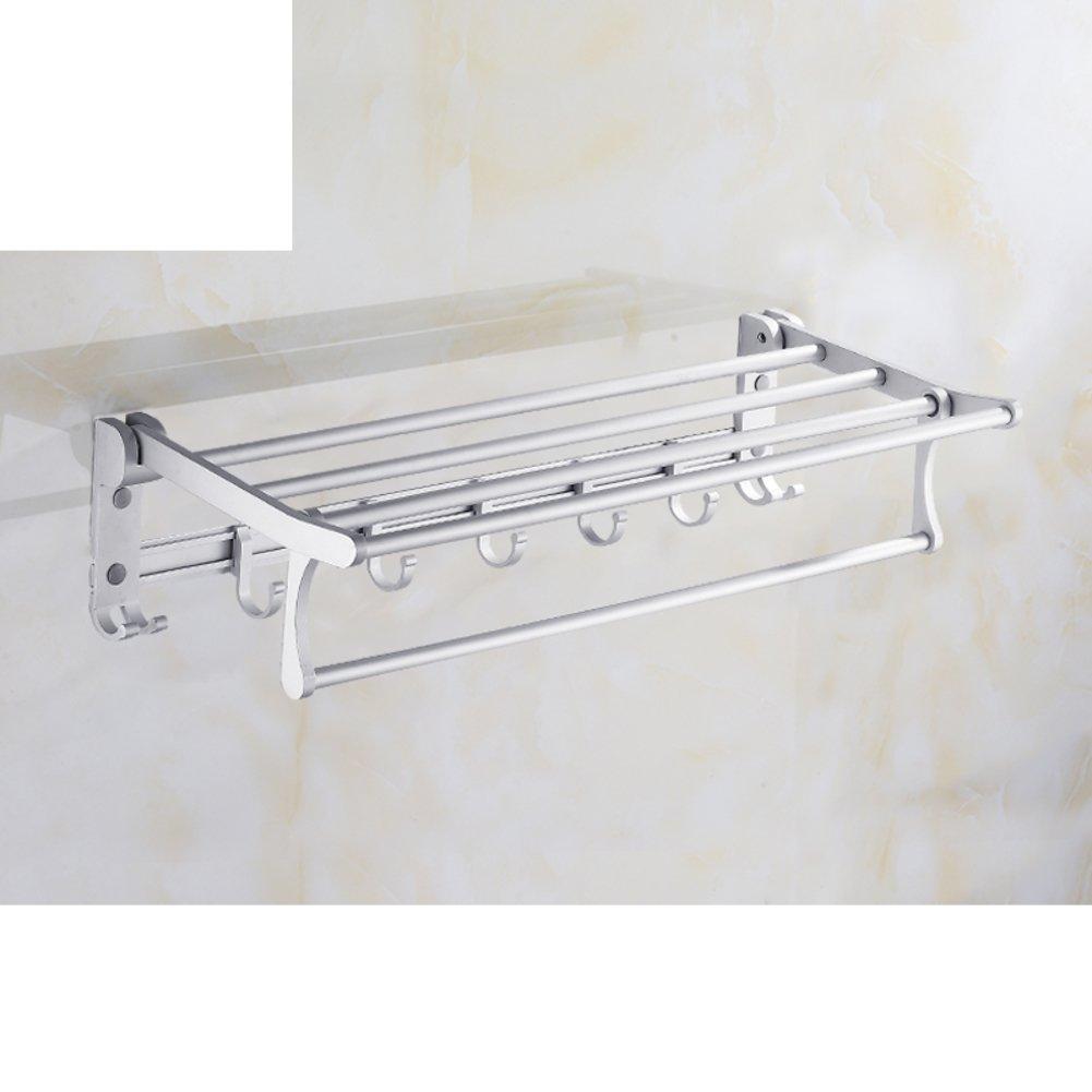 Space aluminum bathroom Towel rack/Towel Bar/Bathroom racks/ folding Towel rack-D delicate