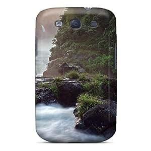 New Design Shatterproof LqRAdoI2973eJgVr Case For Galaxy S3 (rain Forest Falls)