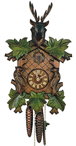Deer Heads Cuckoo Clock - 7
