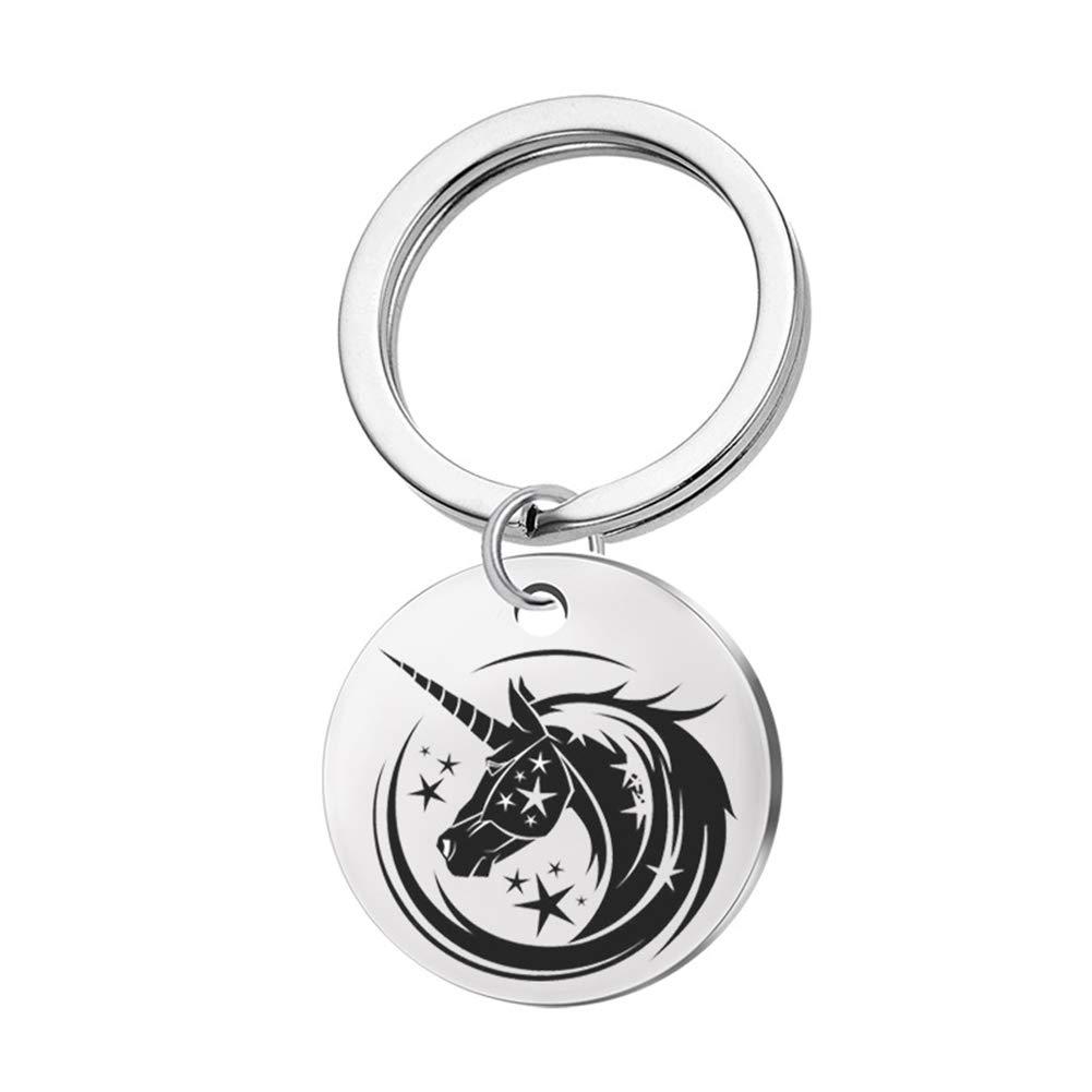 Amazon.com: Formissky-sisa Unicornio llaveros para mujeres ...