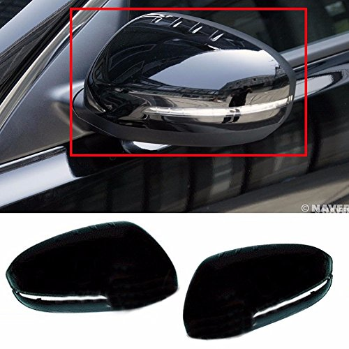 (Side Mirror Cover Repeater Type 2P Color EB/Black for Kia 2011-2015 Optima K5 OEM Parts)