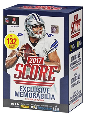 Panini 2017 NFL Score Full Retail Box with Exclusive ()