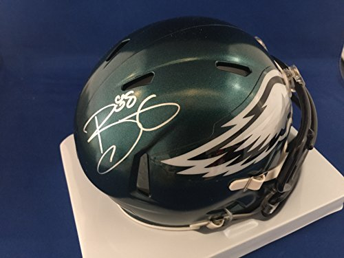 Autographed Trey Burton Philadelphia Eagles Mini Helmet - COA